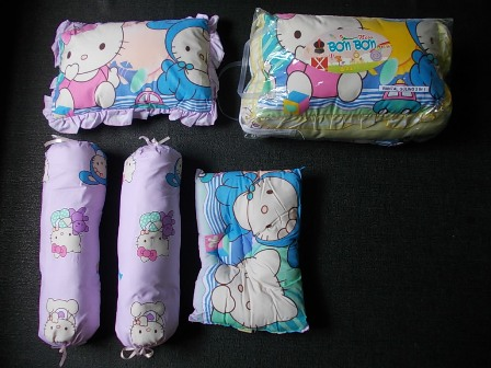 bantal guling bayi double