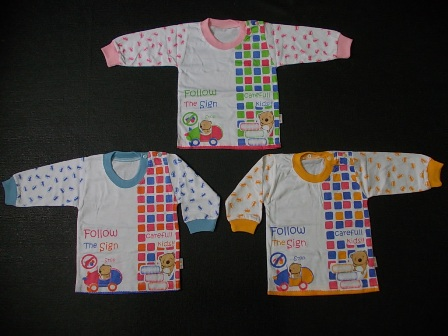 kaos bayi lengan panjang mommy car