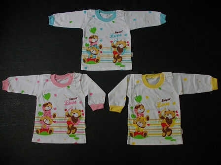 kaos bayi lengan panjang mommy sweet love