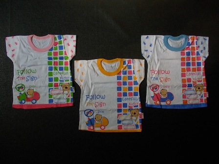 kaos stali mommy 'car' 6-12 bulan