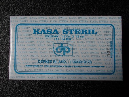 kassa steril dp