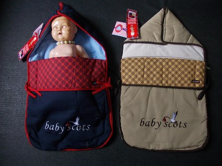 sleeping bag babyscots